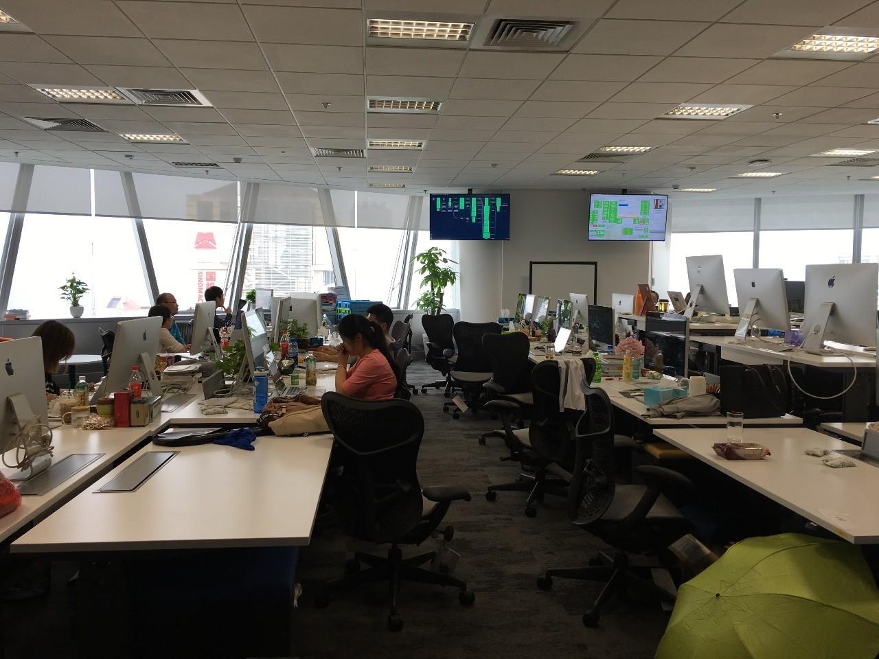 Pivotal 中国办公室环境